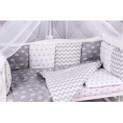 Бортик в кроватку AmaroBaby Royal Baby 12 подушек
