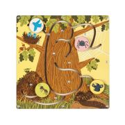 Деревянная игрушка Forest Лабиринт Кто где живет?