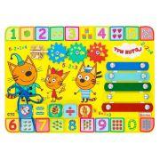 Деревянная игрушка Alatoys Бизиборд Учим цифры Три кота