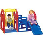 Haenim Toy Игровой центр с горкой + качели