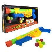 1 Toy Street Battle Игрушечное оружие 2 в 1 с мягкими шариками