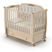 Детская кроватка Nuovita Furore Swing продольный маятник