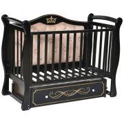 Детская кроватка Антел Julia 111 с мягкой стенкой универсальный маятник