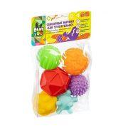 Развивающая игрушка Bondibon Сенсорные мячики Как трогательно! 6 шт.