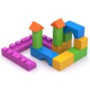 Развивающая игрушка Нордпласт Конструктор выдувной Кубики 17 шт.