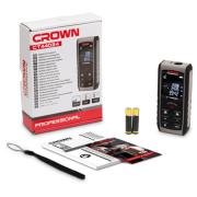 Лазерный дальномер CROWN CT44034 серый/черный