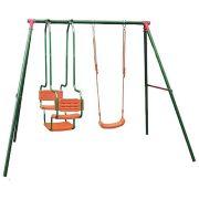 DFC Детский комплекс (LS-01) зеленый/оранжевый