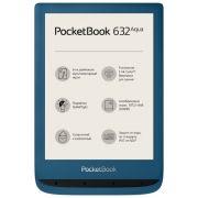 Электронная книга PocketBook 632 Aqua лазурный