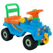 Каталка-толокар Molto Джип 4x4 №2 (62819 / 62826 / 62833) голубой