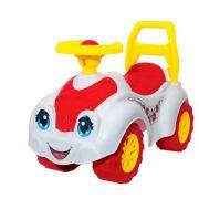 Каталка-толокар ТехноК Автомобиль для прогулок (3503) со звуковыми эффектами белый/красный
