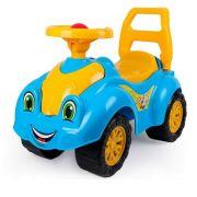 Каталка-толокар ТехноК Автомобиль для прогулок (3510) со звуковыми эффектами синий/желтый