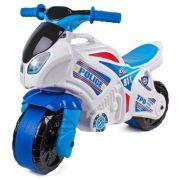 Каталка-толокар ТехноК Мотоцикл (5125) белый/голубой