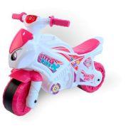 Каталка-толокар ТехноК Мотоцикл (6368) белый/розовый