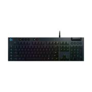 Игровая клавиатура Logitech G G815 RGB Mechanical Gaming Keyboard Black USB Linear Switch