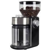 Кофемолка Caso Barista Crema черный/серебристый