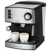Кофеварка рожковая Clatronic ES3643 черный/нержавеющая сталь