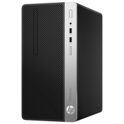 Настольный компьютер HP ProDesk 400 G6 MT (7EL76EA) Micro-Tower/Intel Core i5-9500/8 ГБ/256 ГБ SSD/Intel UHD Graphics 630/Windows 10 Pro черный