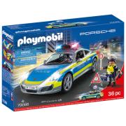 Конструктор Playmobil City Life 70066 Porsche 911 Carrera 4S Полиция
