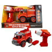 Винтовой конструктор 1 TOY Экстренные службы Т16963 Пожарный грузовик