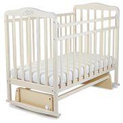 Кроватка SWEET BABY Ennio (качалка), на полозьях белый