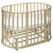 Кроватка SWEET BABY Delizia V2 9 в 1 (трансформер), поперечный маятник avorio