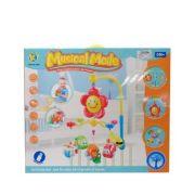 Электронный мобиль Junfa toys Транспорт 6689 красный/желтый/голубой
