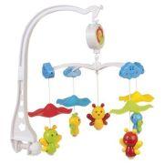 Механический мобиль Canpol Babies Пчелки под зонтиком (75/002) белый