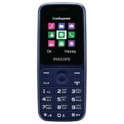 Телефон Philips Xenium E125 синий (CTE125BU/00)