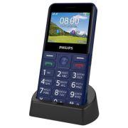 Телефон Philips Xenium E207 синий