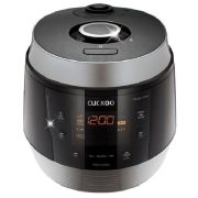 Рисоварка для варки под давлением на 10 порций Cuckoo CRP-QS1020FSM (черное серебро)