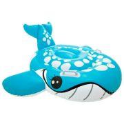 Надувная игрушка-наездник Intex Голубой кит 57527 голубой