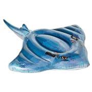 Надувная игрушка-наездник Intex Скат 57550 синий