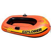 Надувная лодка Intex Explorer 100 58329 оранжевый
