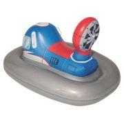 Игрушка-наездник Bestway Галактический крейсер 41115 BW серый/синий/красный