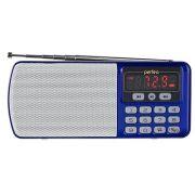 Радиоприемник Perfeo Егерь FM+ синий