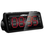 Радиобудильник ARESA AR-3903 черный