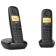 Радиотелефон Gigaset A170 Duo черный