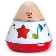 Развивающая игрушка Hape Вращающаяся музыкальная шкатулка E0332 белый/красный
