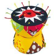 Развивающая игрушка K's Kids Там-там желтый/коричневый/черный