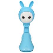 Интерактивная развивающая игрушка BertToys Зайчик няня голубой