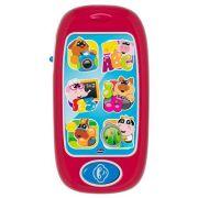 Интерактивная развивающая игрушка Chicco Говорящий смартфон ABC красный