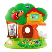 Развивающая игрушка Chicco Bunny House зеленый/оранжевый