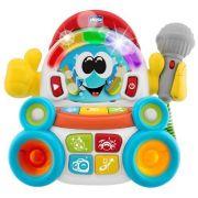 Интерактивная развивающая игрушка Chicco Караоке белый/синий/красный/желтый/зеленый