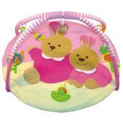 Развивающий коврик Baby Mix Зайки (3163С)