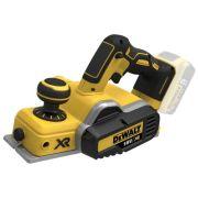 Электрорубанок DeWALT DCP580N желтый/черный