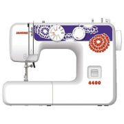 Швейная машина Janome 4400, бело-синий