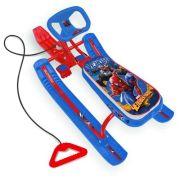 Снегокат Nika Человек-паук CSM1 красный/синий