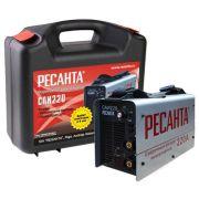 Сварочный аппарат РЕСАНТА САИ-220 в кейсе (MMA)
