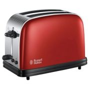 Тостер Russell Hobbs 23330-56 Colours Plus, красный