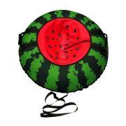 Тюбинг Митек Арбуз 95 см зеленый/красный